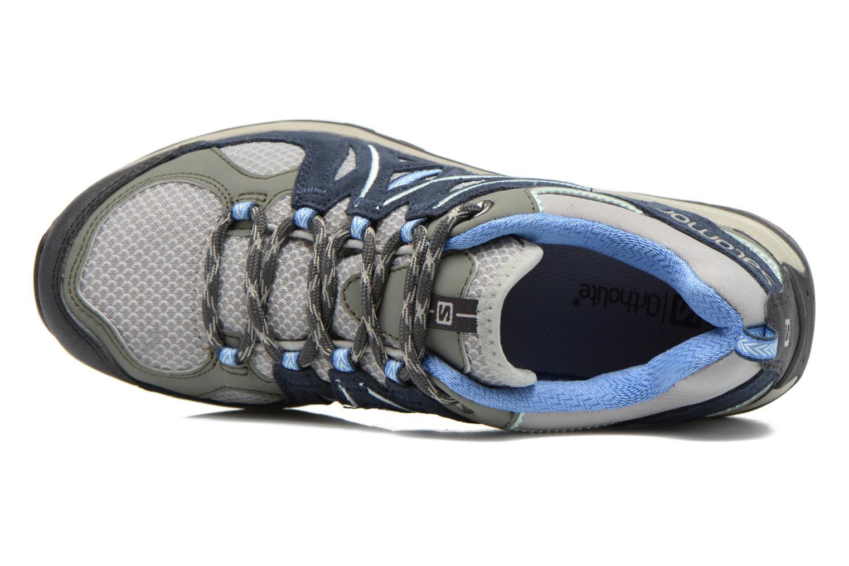 Chaussures de sport Salomon Ellipse 2 Aero W Gris vue gauche