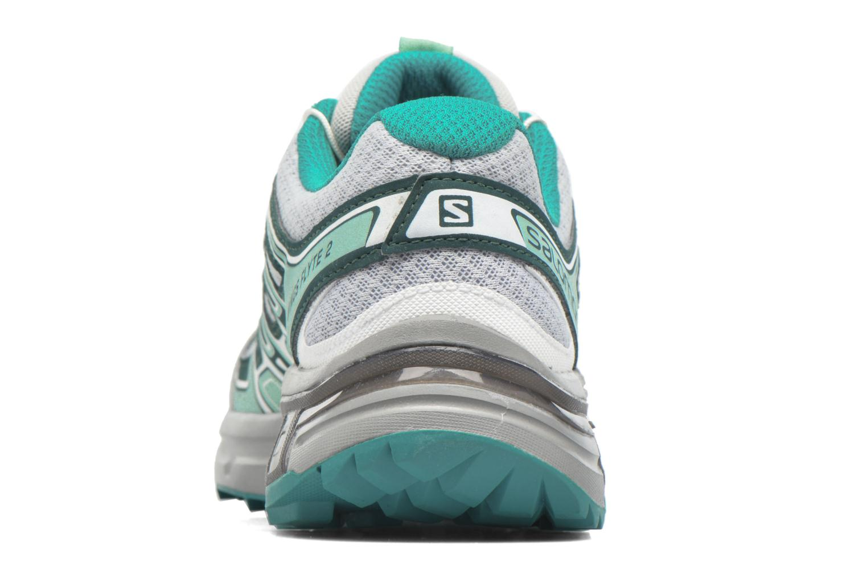 Chaussures de sport Salomon Wings Flyte 2 W Gris vue droite