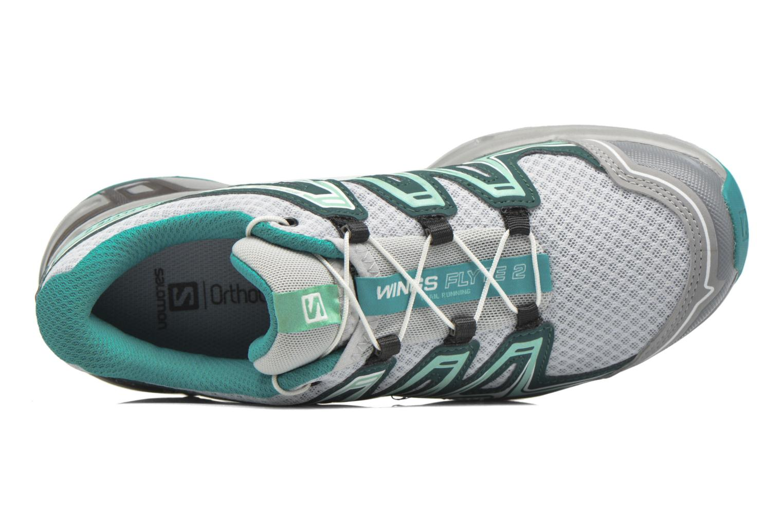 Chaussures de sport Salomon Wings Flyte 2 W Gris vue gauche