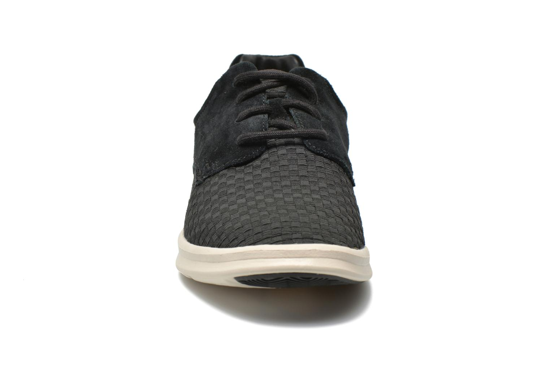 Baskets UGG Hepner Woven Noir vue portées chaussures