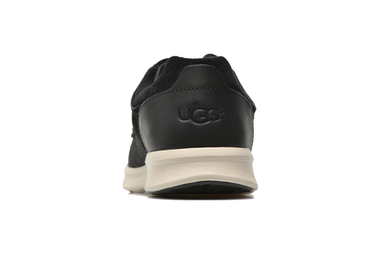 Baskets UGG Hepner Woven Noir vue droite
