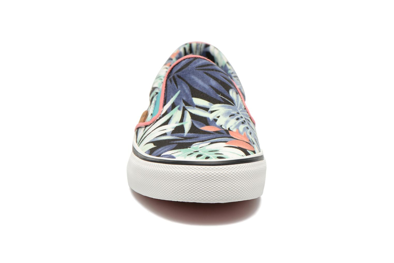 Baskets Pepe jeans Alford Jungle Multicolore vue portées chaussures