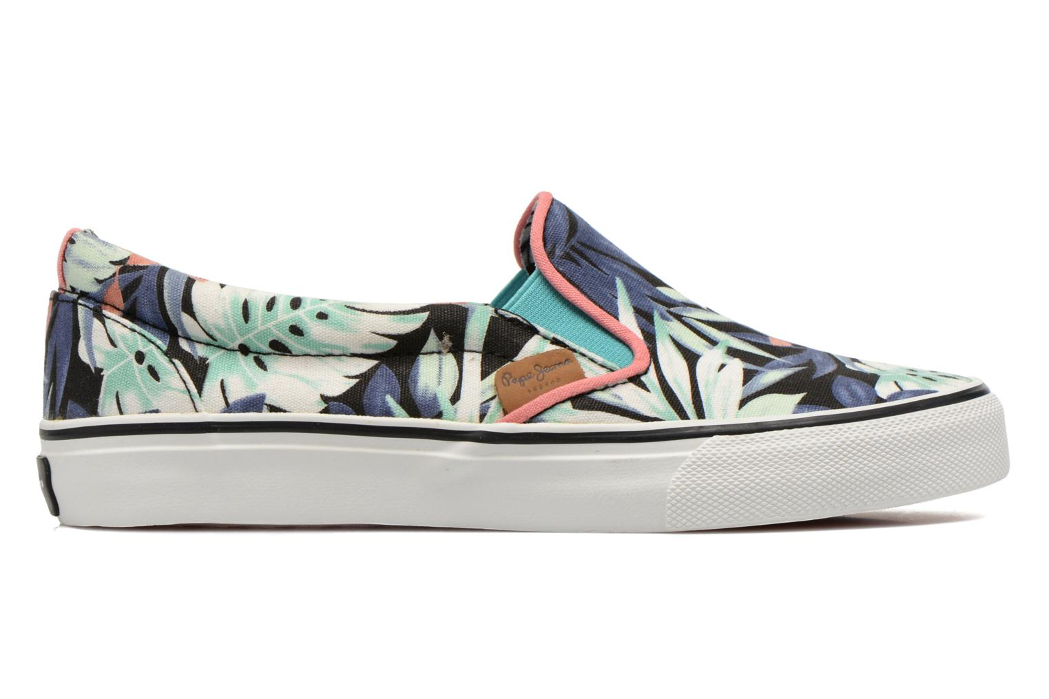 Trainers Pepe jeans Alford Jungle Multicolor back view