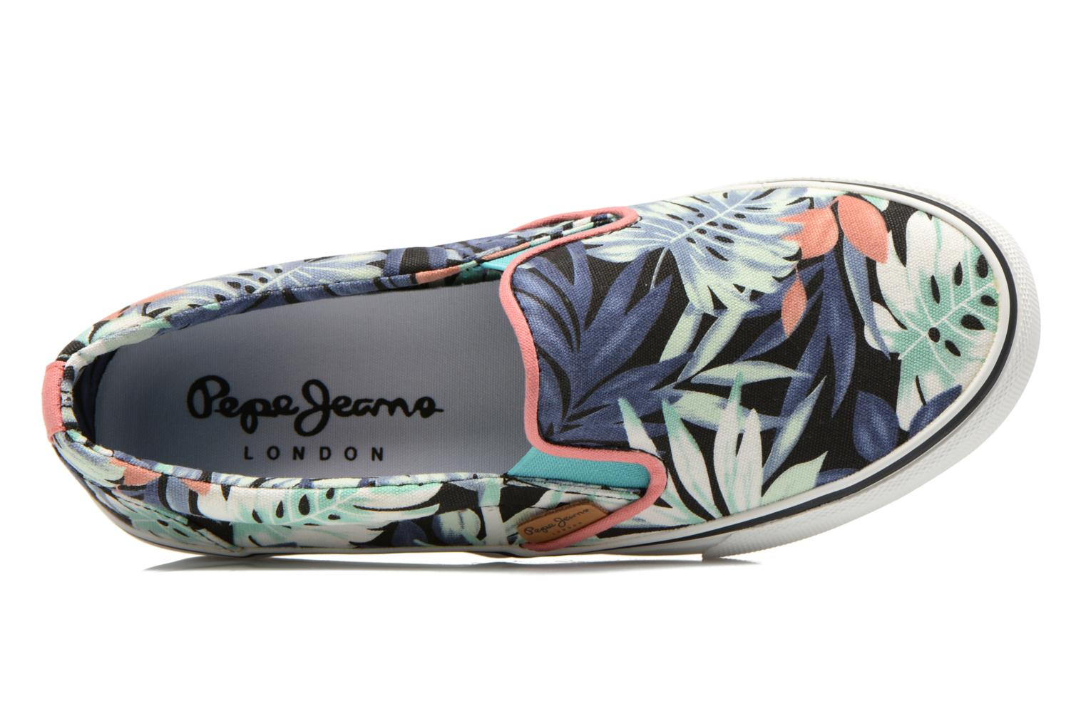 Baskets Pepe jeans Alford Jungle Multicolore vue gauche
