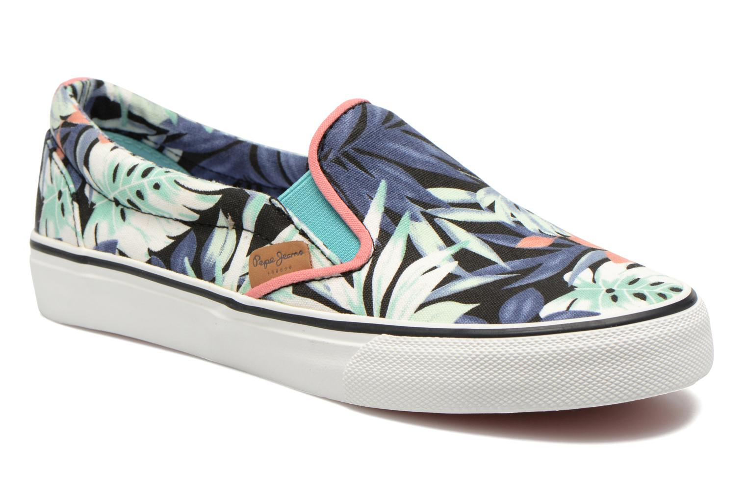 Baskets Pepe jeans Alford Jungle Multicolore vue détail/paire