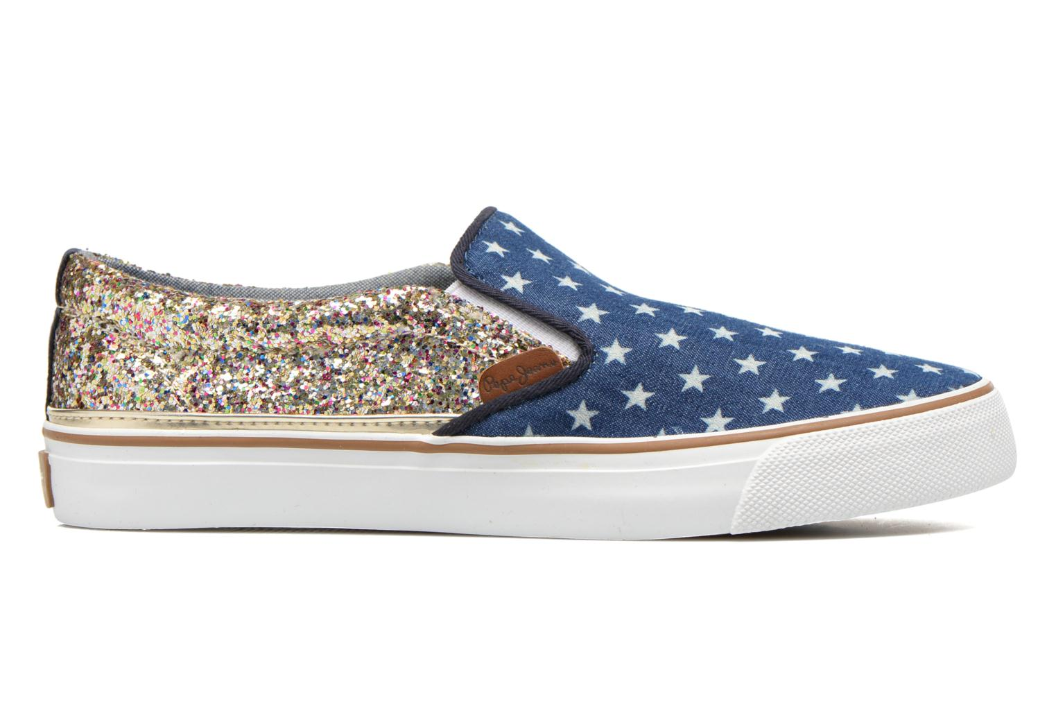 Deportivas Pepe jeans Alford Party Stars Azul vistra trasera