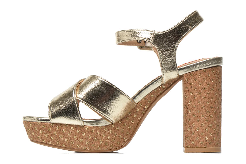 Sandalen Pepe jeans Grace Shine gold/bronze ansicht von vorne