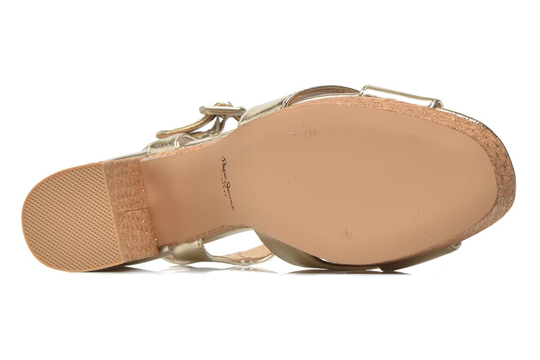 Sandalen Pepe jeans Grace Shine gold/bronze ansicht von oben