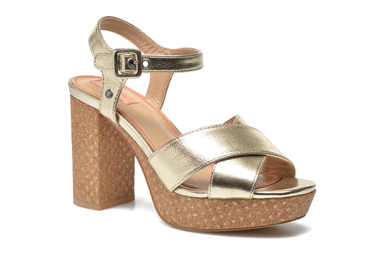 Sandalias Pepe jeans Grace Shine Oro y bronce vista de detalle / par