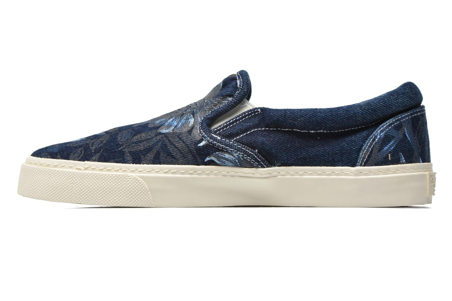 Trainers Pepe jeans Harry Denim Blue front view