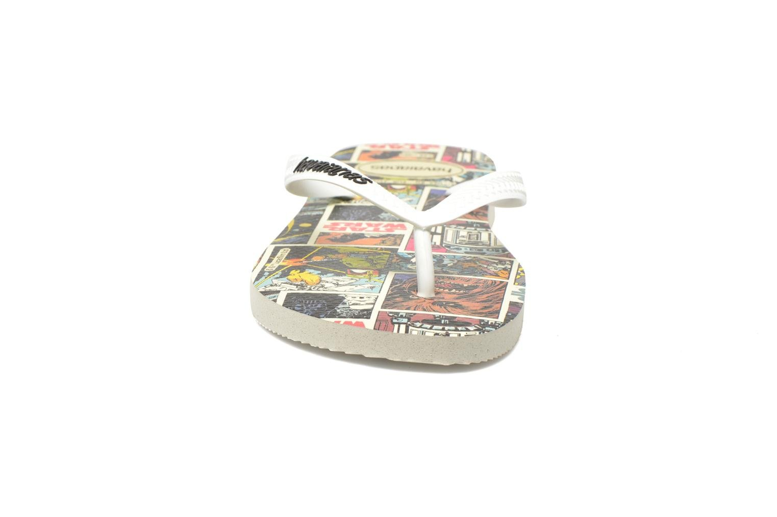 Chanclas Havaianas Star Wars Multicolor vista del modelo