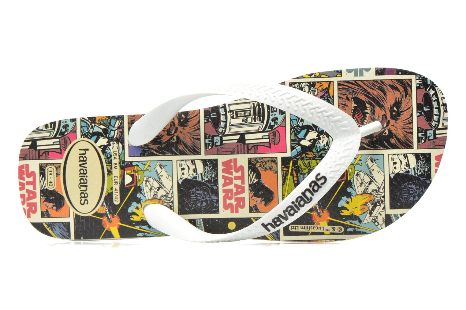 Flip flops Havaianas Star Wars Multicolor view from the left