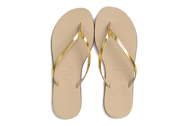 Zehensandalen Havaianas You Metallic gold/bronze 3 von 4 ansichten