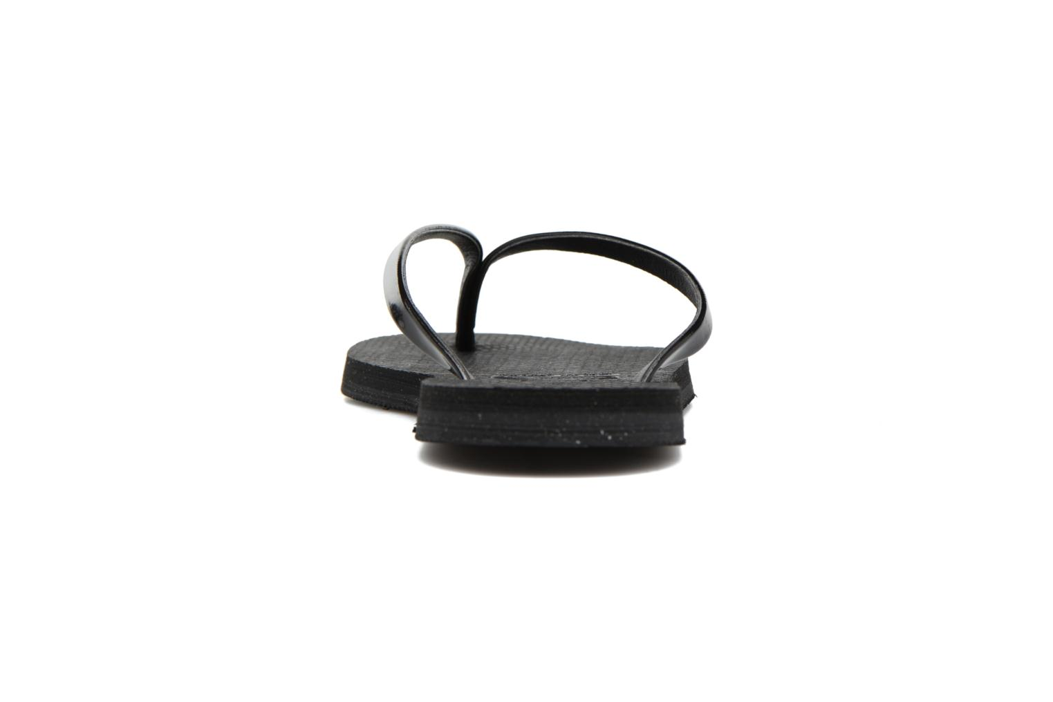 Flip flops Havaianas You Metallic Black view from the right