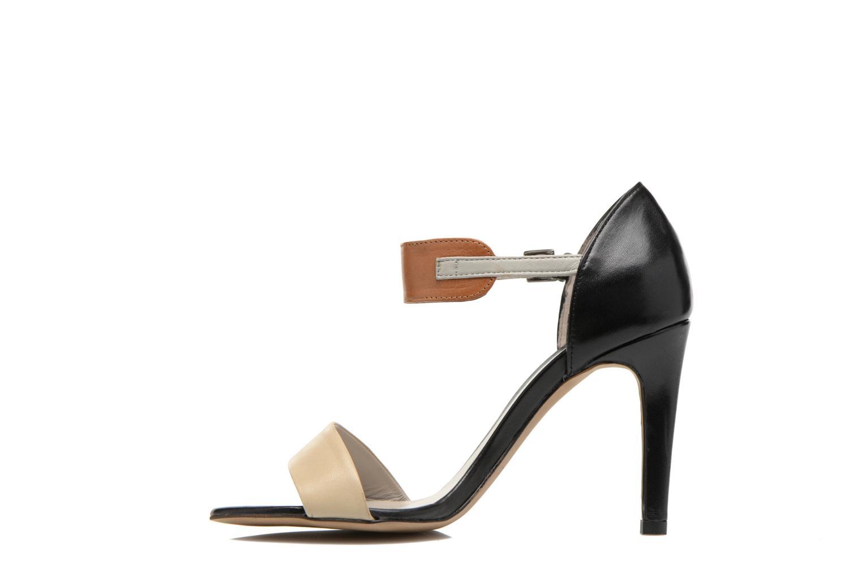 Sandales et nu-pieds Perlato Cadix Multicolore vue face