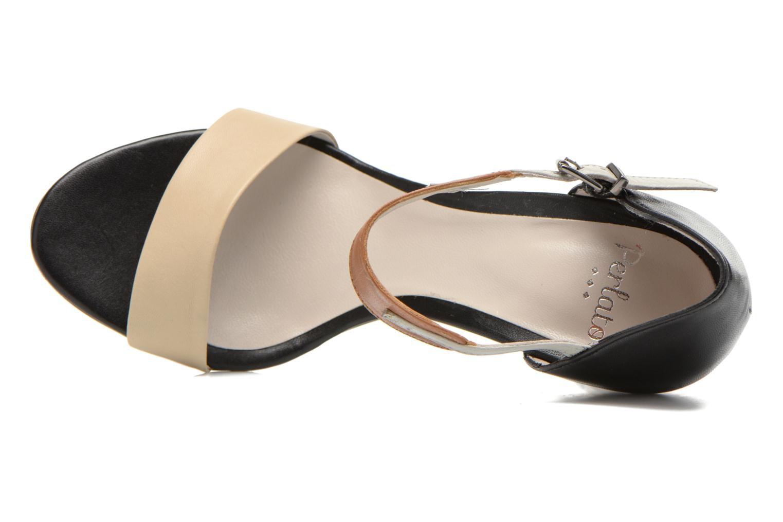 Sandales et nu-pieds Perlato Cadix Multicolore vue gauche