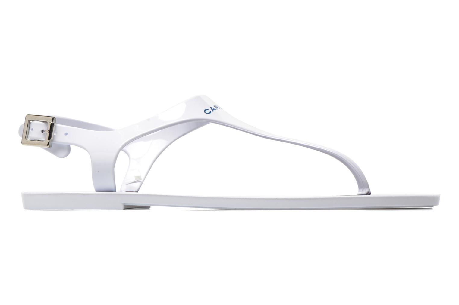 Sandals Carven Loja White back view