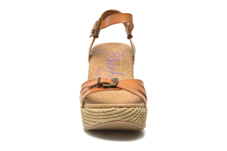 Sandales et nu-pieds Blowfish Drive In Marron vue portées chaussures