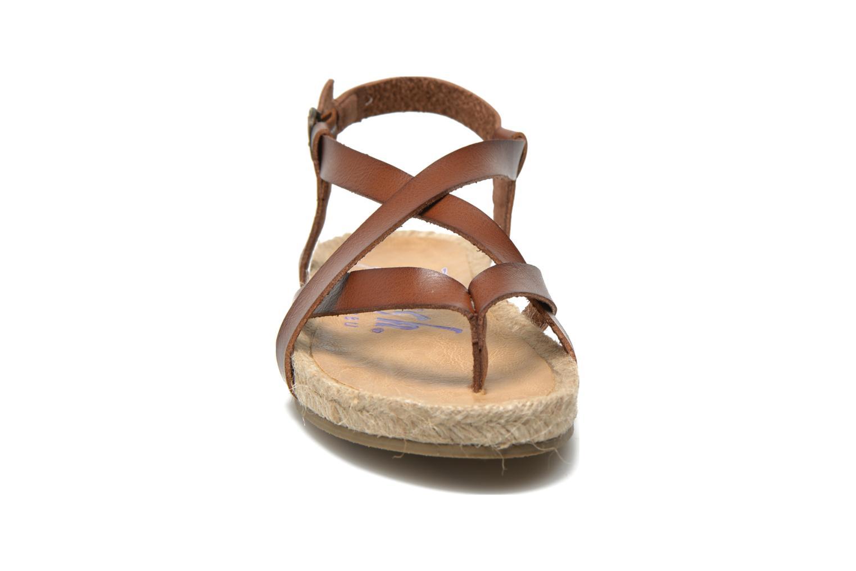 Sandales et nu-pieds Blowfish Granola Rope Marron vue portées chaussures
