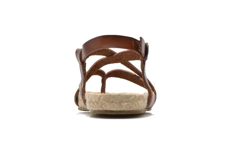 Sandales et nu-pieds Blowfish Granola Rope Marron vue droite