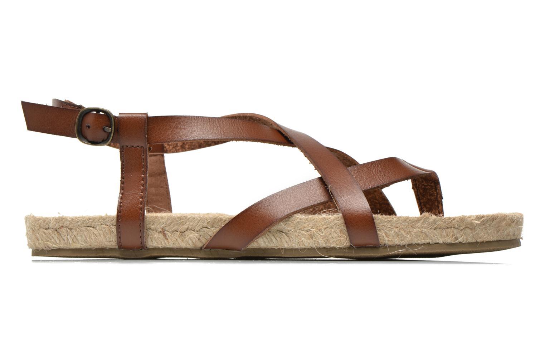 Sandales et nu-pieds Blowfish Granola Rope Marron vue derrière