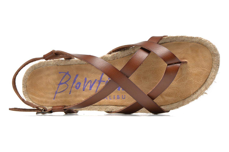 Sandales et nu-pieds Blowfish Granola Rope Marron vue gauche