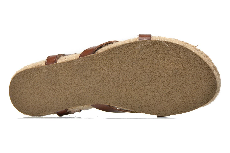 Sandales et nu-pieds Blowfish Granola Rope Marron vue haut