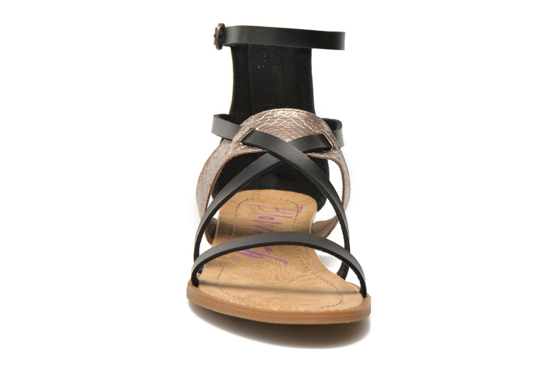 Sandales et nu-pieds Blowfish Badot Noir vue portées chaussures