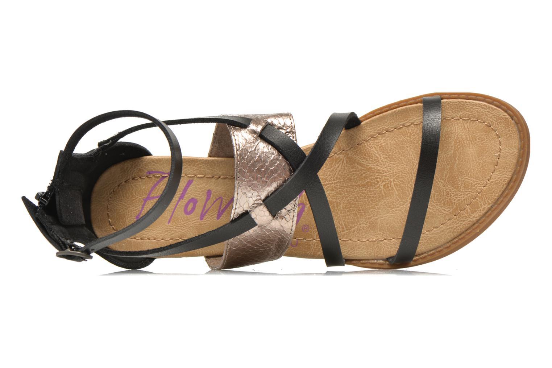 Sandales et nu-pieds Blowfish Badot Noir vue gauche