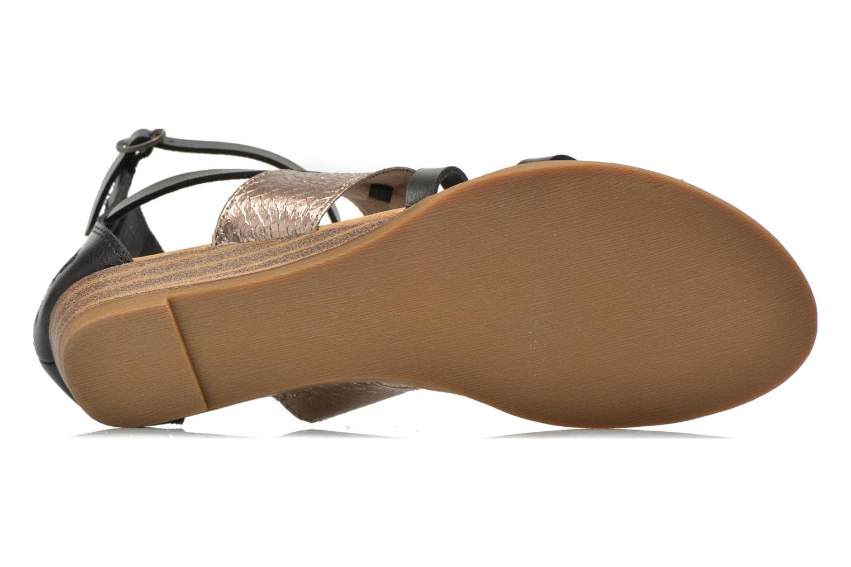 Sandales et nu-pieds Blowfish Badot Noir vue haut