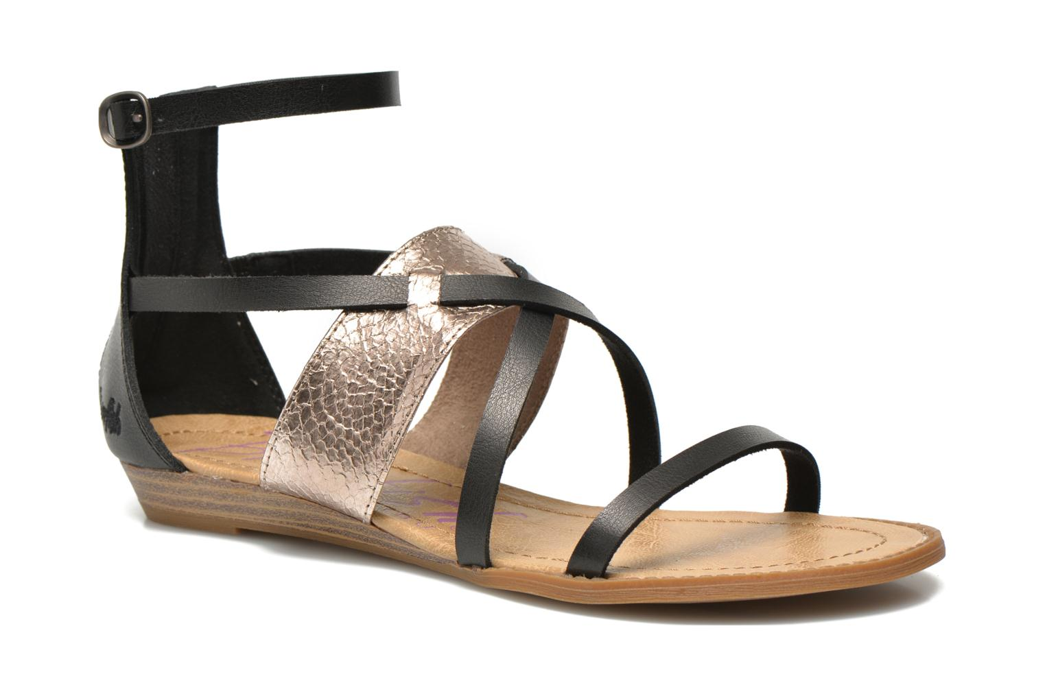 Sandals Blowfish Badot Black detailed view/ Pair view