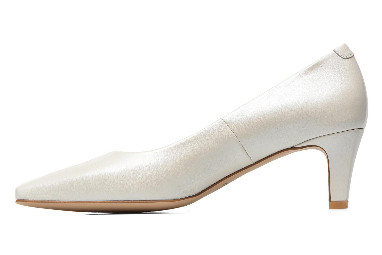 High heels Perlato Lailana White front view