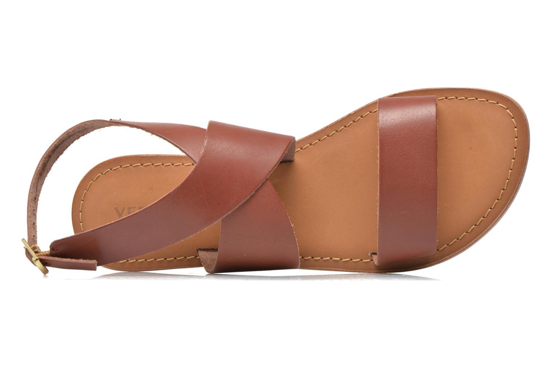 Sandaler Vero Moda VmSandra Brun se fra venstre
