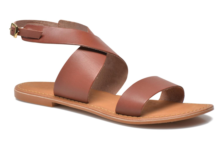 Sandaler Vero Moda VmSandra Brun detaljeret billede af skoene