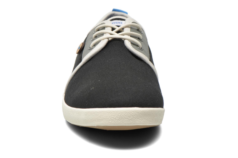 Baskets Faguo Sugi Noir vue portées chaussures