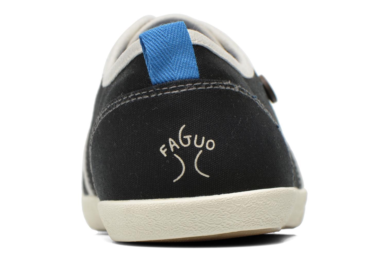 Baskets Faguo Sugi Noir vue droite