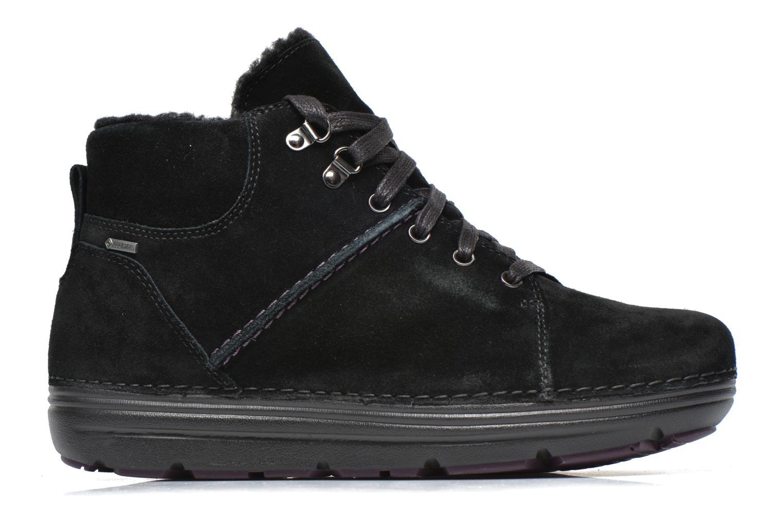 Zapatos con cordones Clarks Nelia Lush GTX Negro vistra trasera