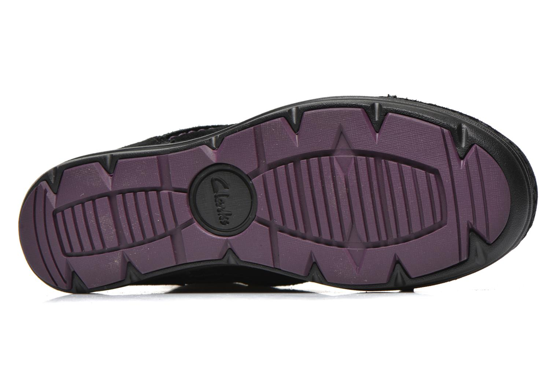Scarpe con lacci Clarks Nelia Lush GTX Nero immagine dall'alto