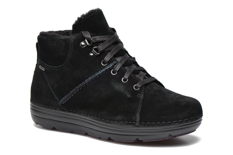Zapatos con cordones Clarks Nelia Lush GTX Negro vista de detalle / par