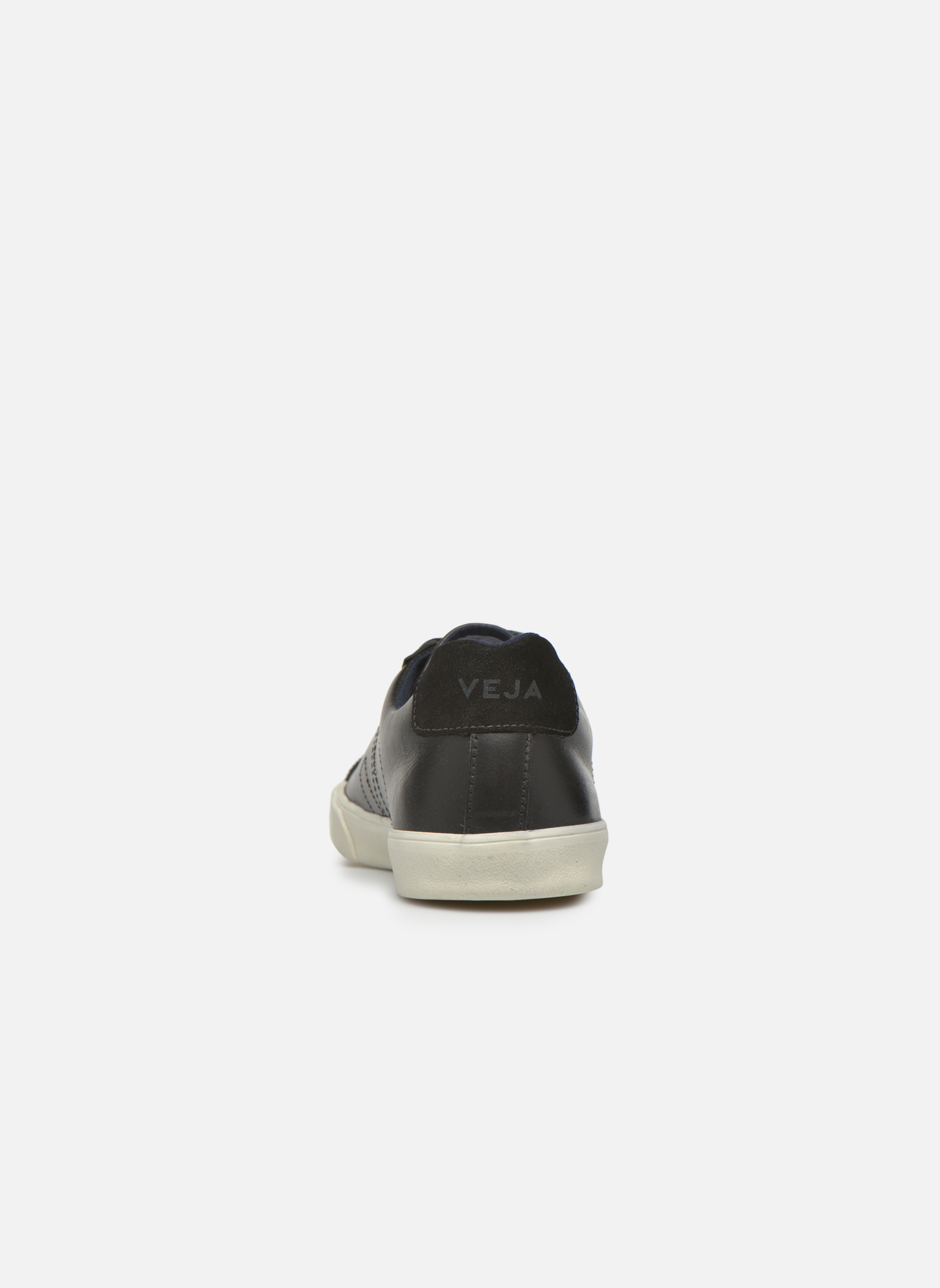 Baskets Veja Esplar Leather Noir vue droite