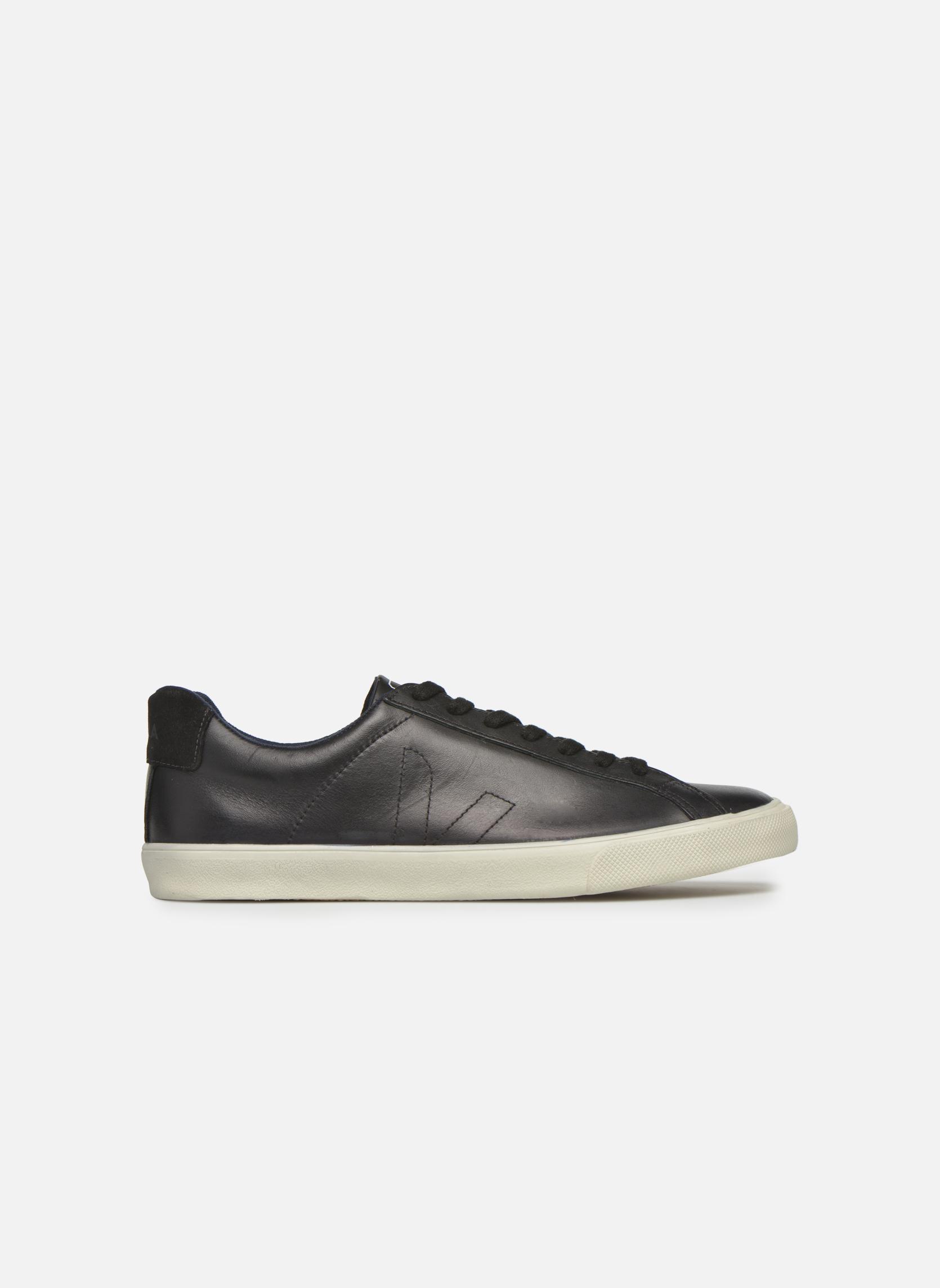 Baskets Veja Esplar Leather Noir vue derrière
