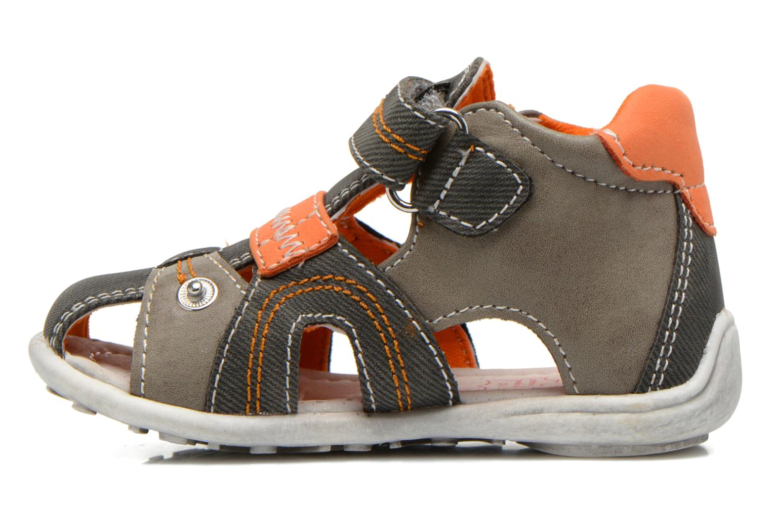 Sandals NA! Airelle Grey front view