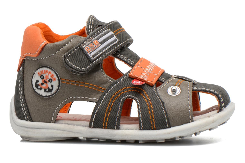 Sandales et nu-pieds NA! Airelle Gris vue derrière