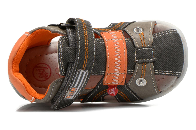 Sandales et nu-pieds NA! Airelle Gris vue gauche