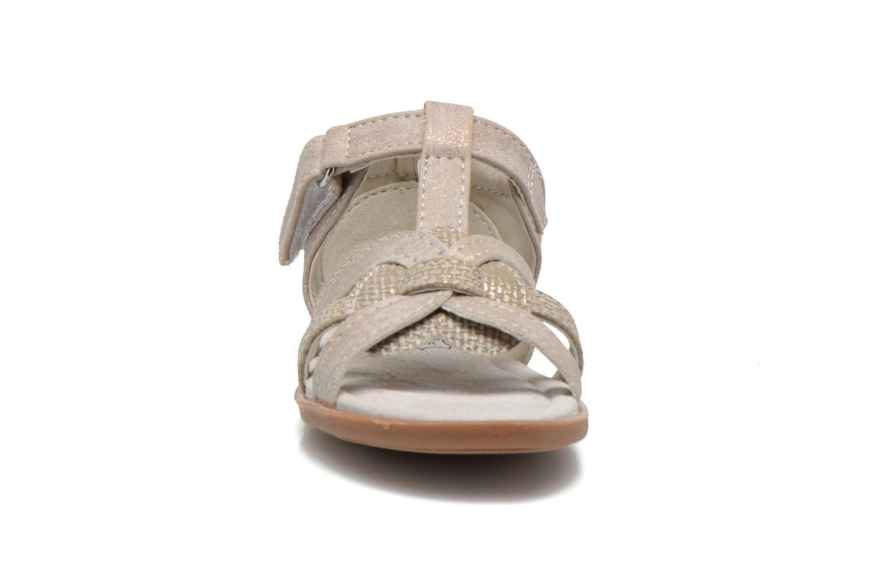 Sandals NA! Satin Beige model view