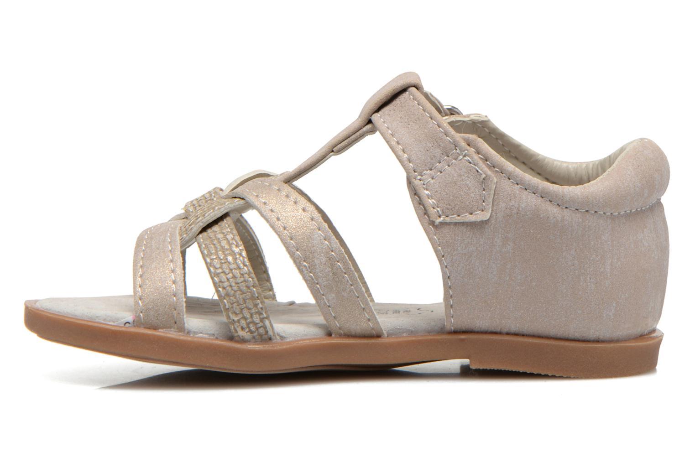 Sandals NA! Satin Beige front view