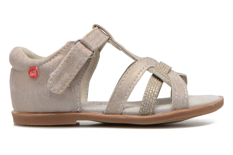 Sandals NA! Satin Beige back view