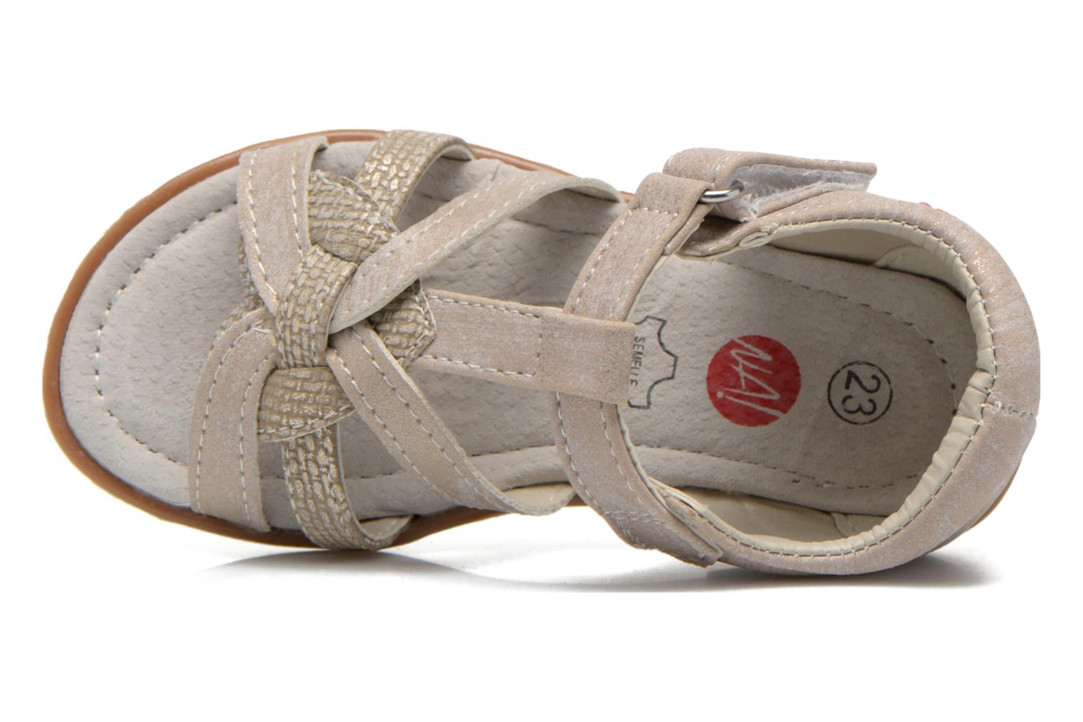 Sandals NA! Satin Beige view from the left