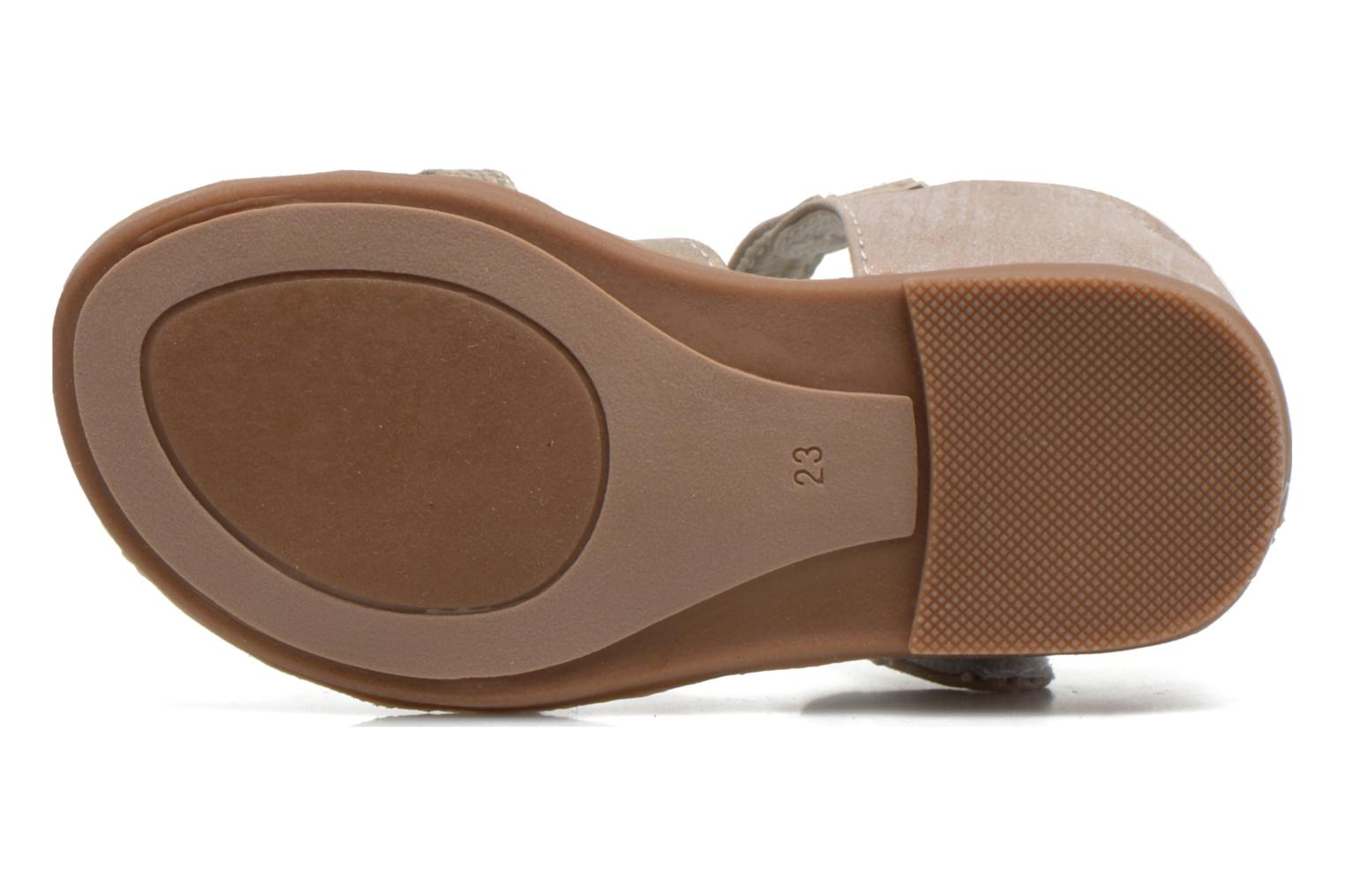 Sandals NA! Satin Beige view from above