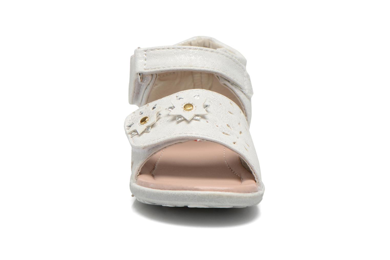 Sandalen NA! Reine weiß schuhe getragen
